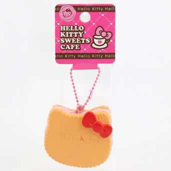 Sanrio Hello Kitty Biscuit Keychain Squishy - Hamee.com - Hamee US