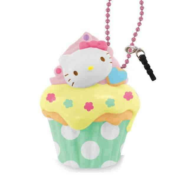 Sanrio Earphone Jack Cell Charm/Accessory (Cupcake) - Hamee US
