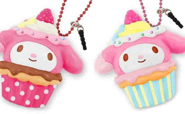 Sanrio My Melody Earphone Jack Cell Charm/Accessory (Chocolate/Berry) - Hamee US