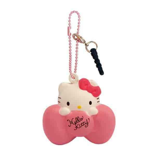 Sanrio Squishy Ball Chain and Earphone Jack Accessory - Hamee - 2