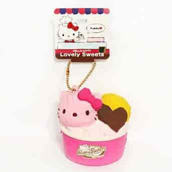 Sanrio Hello Kitty Lovely Sweets Series Ice Cream Squishy - Hamee.com - Hamee US