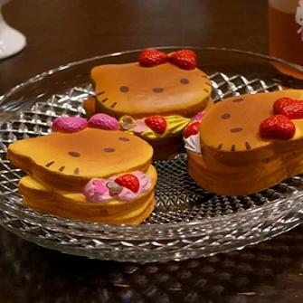 Sanrio Hello Kitty Lovely Sweets Series Pancake Squishy - Hamee.com