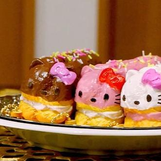 Sanrio Hello Kitty Lovely Sweets Series Eclair Squishy - Hamee.com