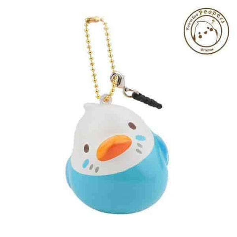 Peepers Round Bird Squishy - Hamee.com