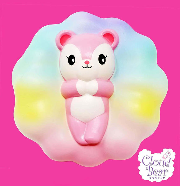[Genuine] iBloom Cloud Bear Scented Slow Rising Animal Squishy - Hamee US