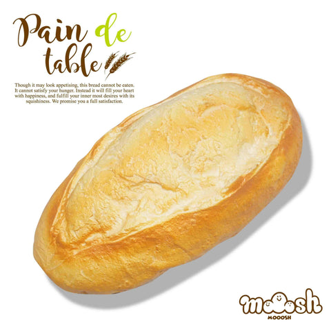 [Genuine] iBloom Jumbo Pain de Table Bread Loaf Squishy - Hamee US