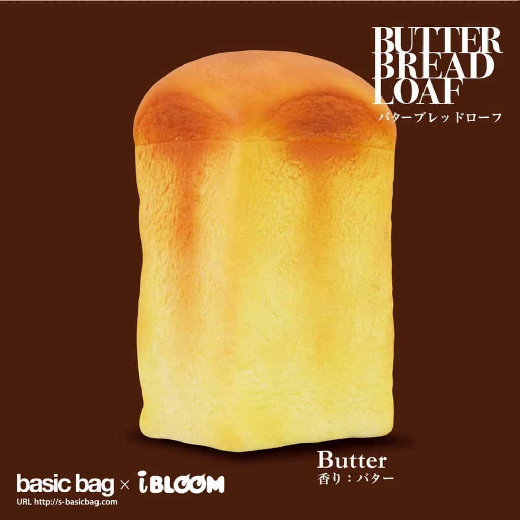 [Genuine] iBloom Butter Bread Loaf Scented Slow Rising Squishy - Hamee US