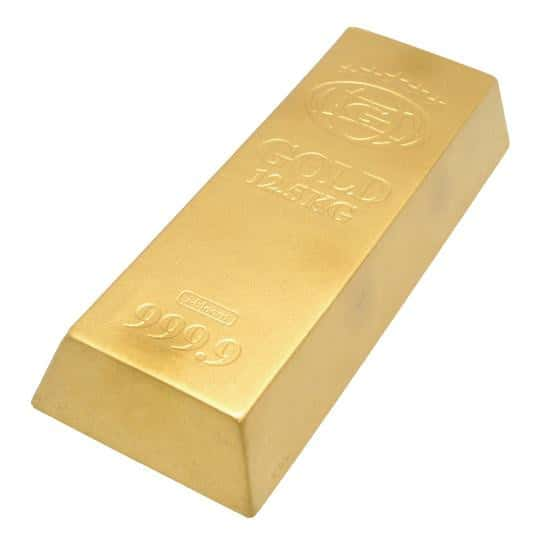 [Genuine] iBloom GOLD 9999 Gold Bar Slow Rising Squishy (Mini Size) - Hamee US