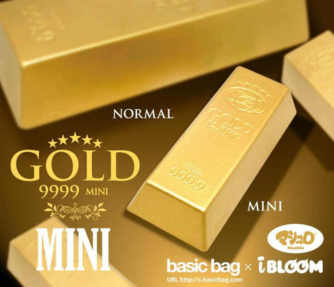 iBloom GOLD 9999 Gold Bar Squishy - Hamee.com