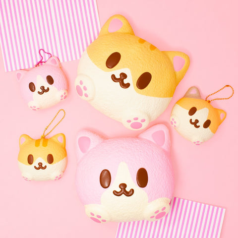 iBloom Kitty Mike Pan Squishy [variant.title] - Hamee.com