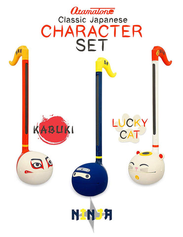 Otamatone Musical Toy - Japanese Characters from Maywa Denki [SET] 3 pcs