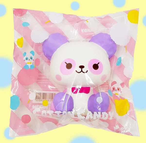 [Genuine] iBloom Cotton Candy Panda Scented Slow Rising Animal Squishy - Hamee.com