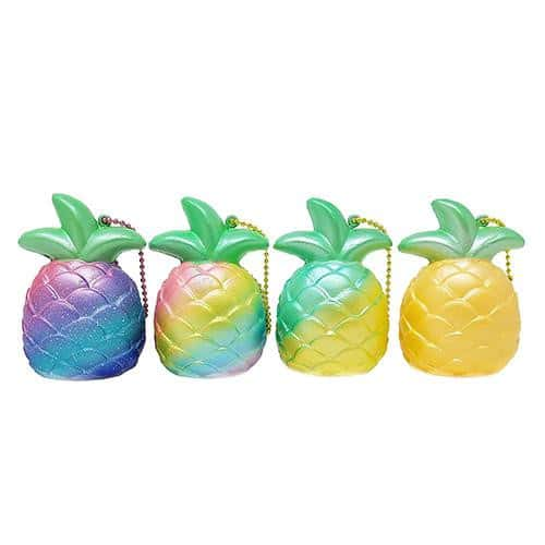 [Genuine] iBloom Mini Pineapple Slow Rising Squishy (Assorted Colors) - Hamee US