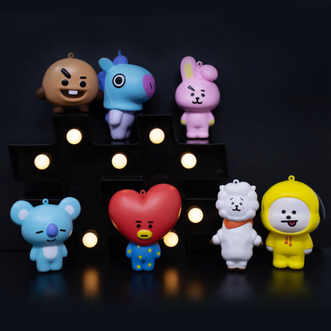 LINE FRIENDS BT21 Full Body Squishy Collector's Set - Hamee.com
