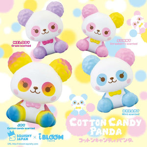 [Genuine] iBloom Cotton Candy Panda Scented Slow Rising Animal Squishy - Hamee US