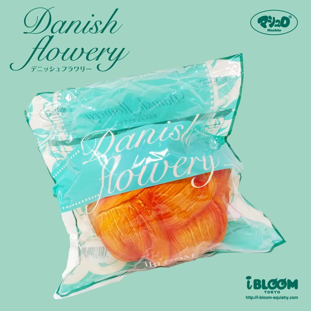 [Genuine] iBloom Danish Flowery Scented Slow Rising Squishy - Hamee US