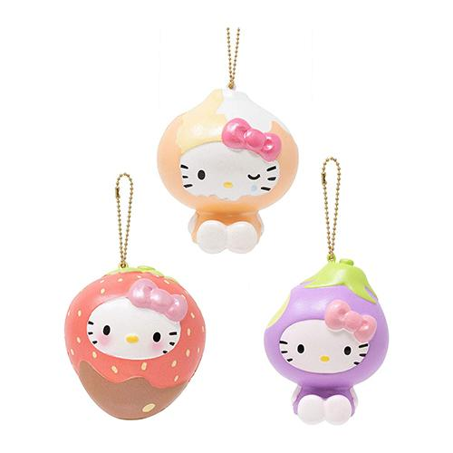 Sanrio Hello Kitty Fruit & Veggie Squishy Collector's Set - Hamee.com