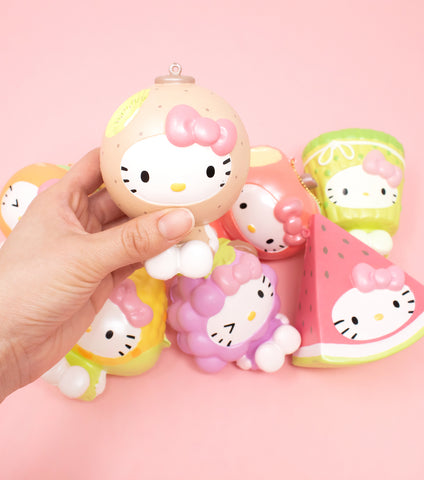 Sanrio Hello Kitty Fruit & Veggie Squishy