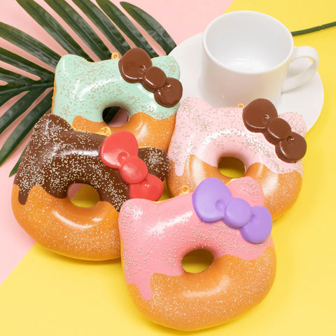 Sanrio Hello Kitty Super Soft Glazed Donut Squishy [variant.title] - Hamee.com