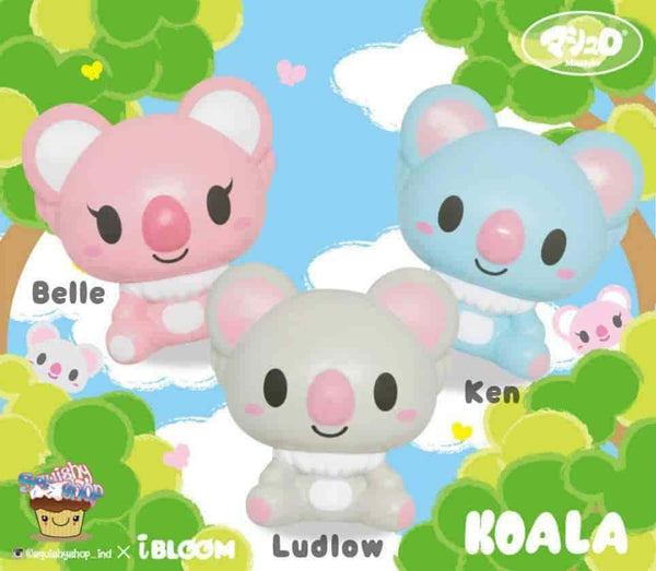 [Genuine] iBloom Koala Scented Slow Rising Animal Squishy - Hamee US