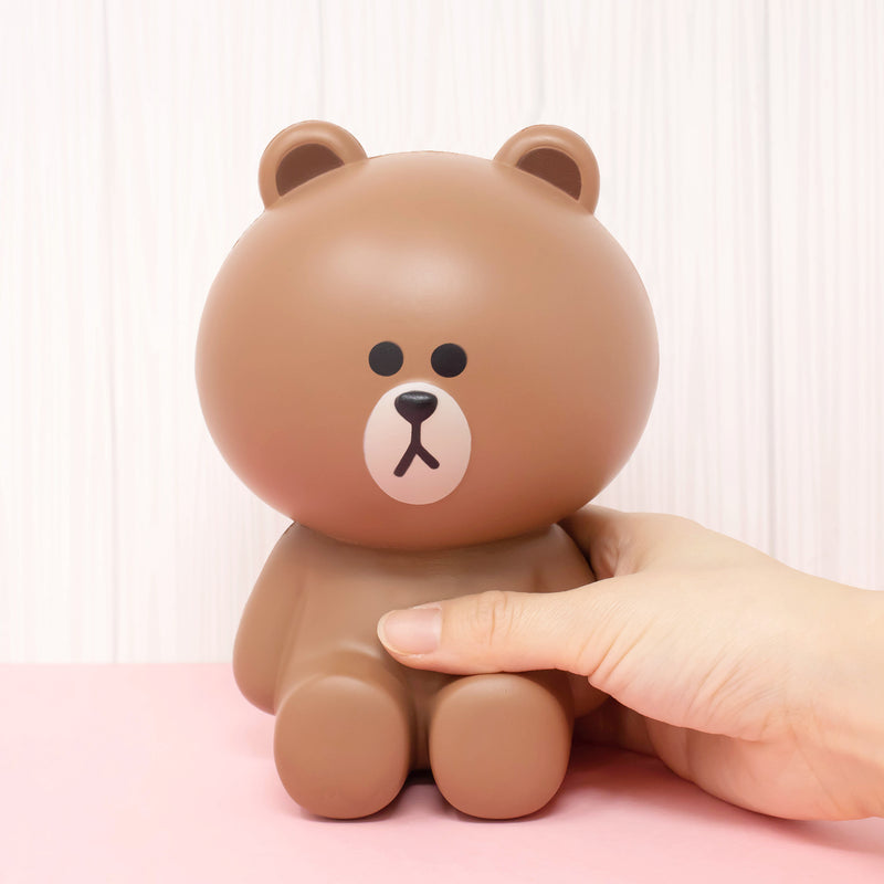 Line Friends Brown Jumbo Squishy - Hamee.com - Hamee US