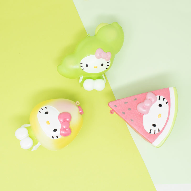 Sanrio Hello Kitty Fruit & Veggie Squishy Collector's Set