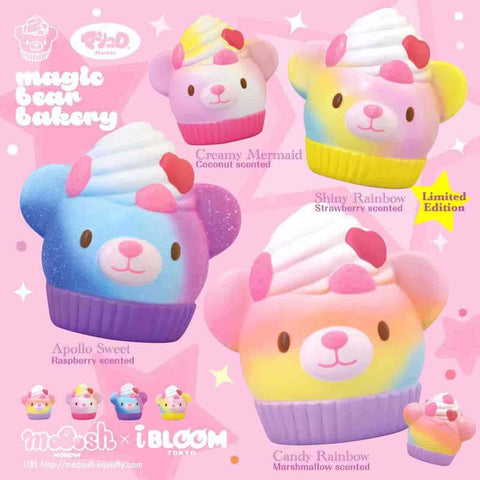 [Genuine] iBloom Magic Bear Bakery Scented Slow Rising Animal Squishy - Hamee.com