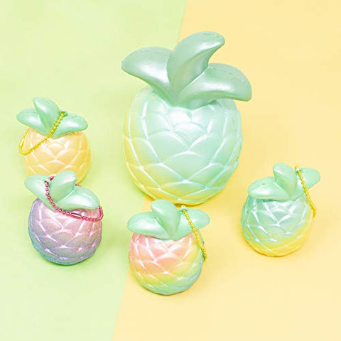 iBloom Cutie Pineapple Squishy Collector's Set [variant.title] - Hamee.com