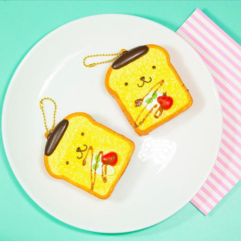 Sanrio Pompompurin French Toast Squishy - Hamee.com