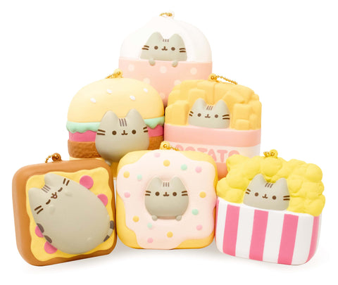 [Genuine] Pusheen Square Squishy [SET] 6 pcs - Hamee.com