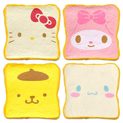 Sanrio Milk Toast Squishy SET [4 pc]