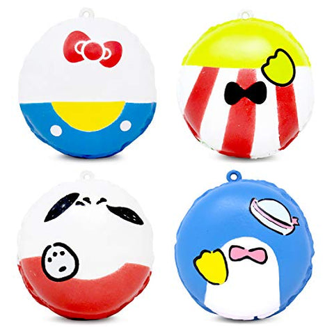 Sanrio Rich Macaron Squishy Collector's Set - Hamee.com
