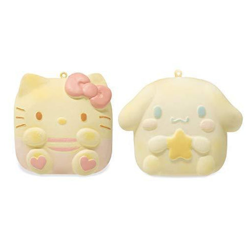 Sanrio Sweet Roll Character Squishy Keychain Collector's Set - Hamee.com