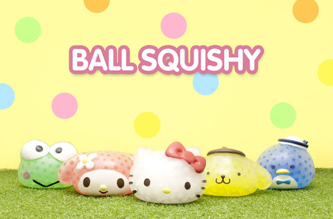 Sanrio Ball Squishy Filled with Water Beads [variant.title] - Hamee.com