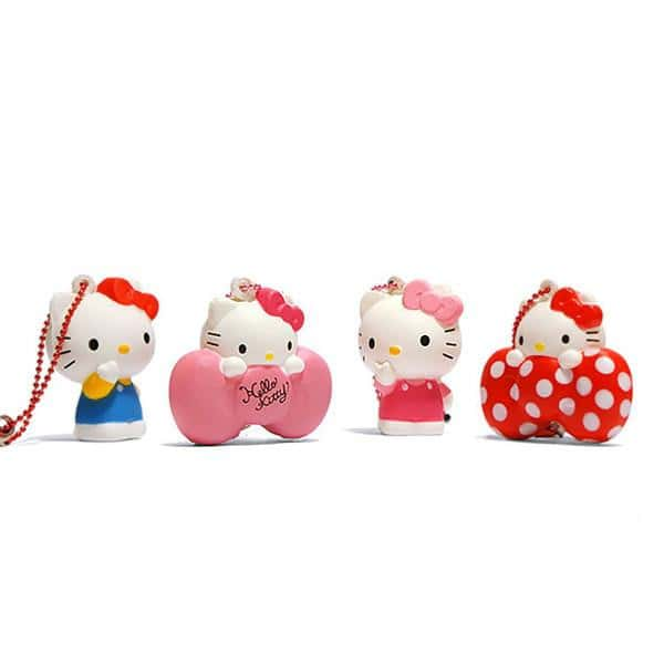 Sanrio Hello Kitty Mini Squishy with Earphone Jack Charm - Hamee.com - Hamee US