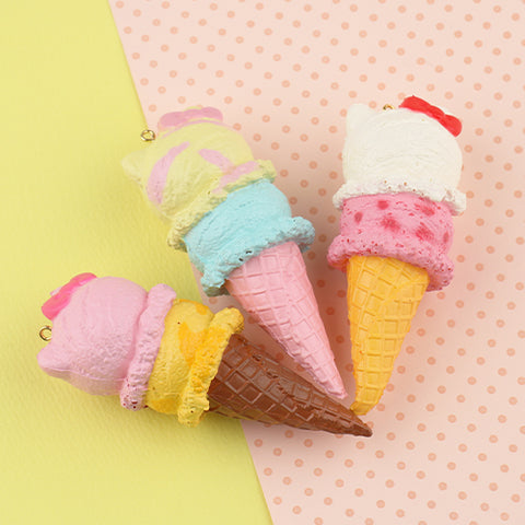 Sanrio Hello Kitty Double Ice Cream Squishy - Hamee.com