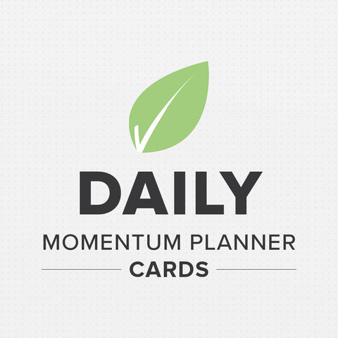 Daily Momentum Planner Cards