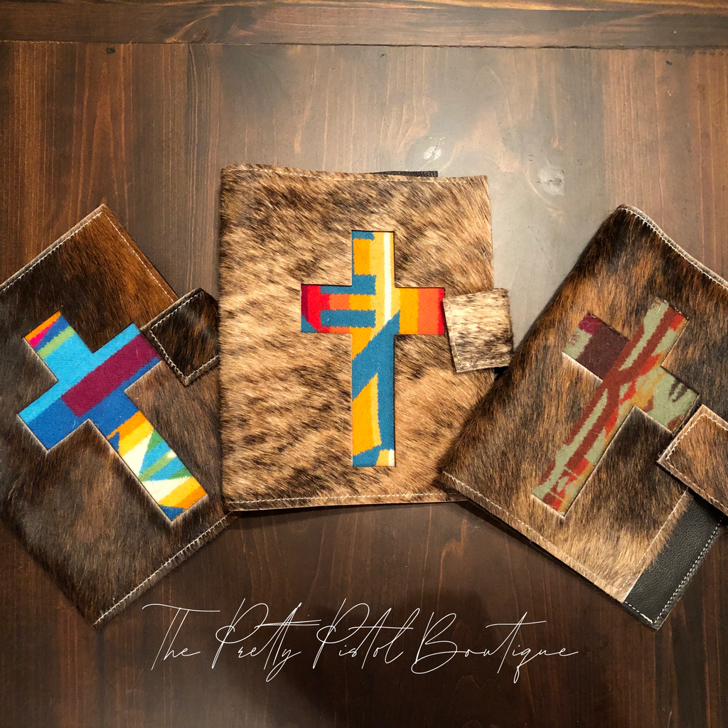 Pendleton Cowhide Bible Covers