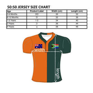 50:50 Flag Jersey - Australia + South Africa