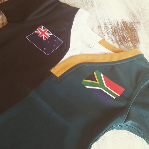 50:50 Flag Jersey - New Zealand + South Africa
