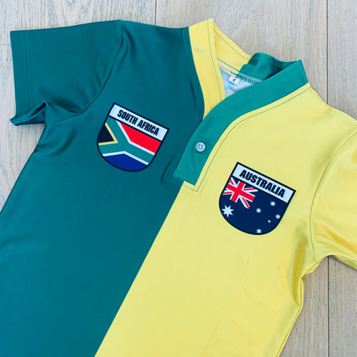 50:50 Shield Jersey - South Africa + Australia