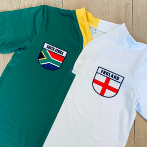 50:50 Shield Jersey - South Africa + England
