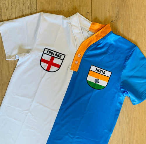 50/50 Shield Jersey - England/India