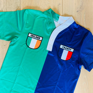 50/50 Shield Jersey - Ireland/France
