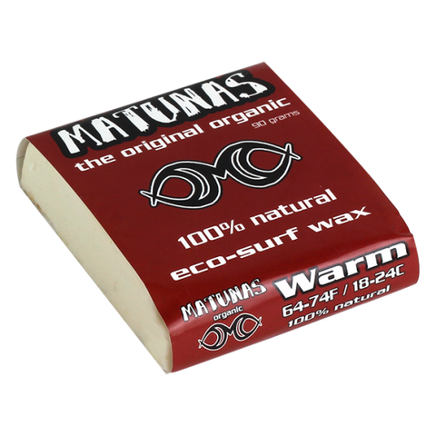Matunas Organic Surf Wax Warm Water