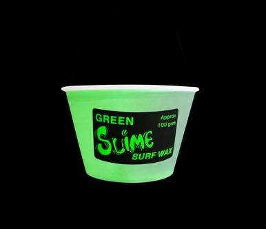 Green Slime Surf Wax - Warm Water