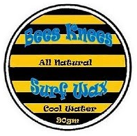 Bees Knees Surf Wax Cool Water