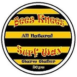 Bees Knees Surf Wax Warm Water