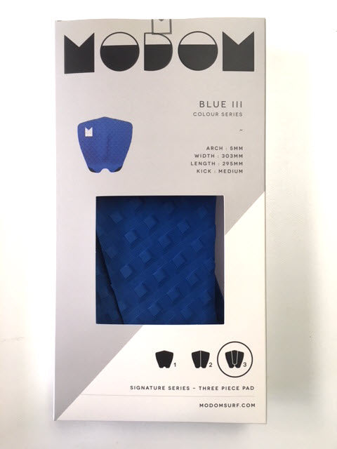 Modom Colour Series 3 Tail Pad - Blue