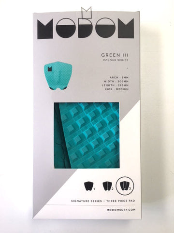 Modom Colour Series 3 Tail Pad - Green